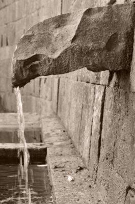 fontana dei bottini fontinalia