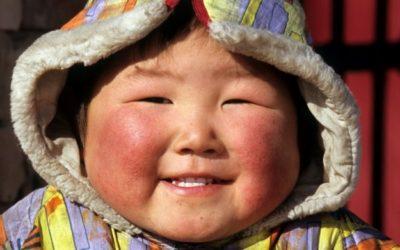 bambino mongolo