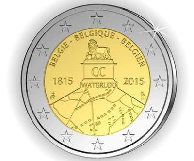 euro celebrativo waterloo