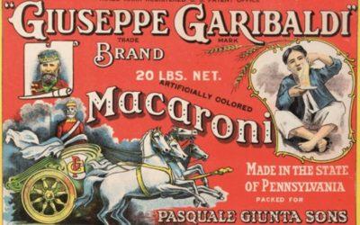 etichetta macaroni partono i bastimenti
