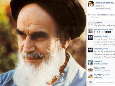 instagram khomeini
