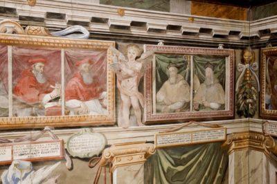 angelo cesi sala del trono palazzo vescovile todi