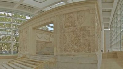 ara pacis art for the blind