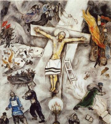 crocifissione bianca chagall