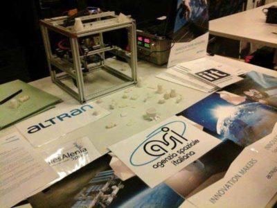 stampante 3d in orbita