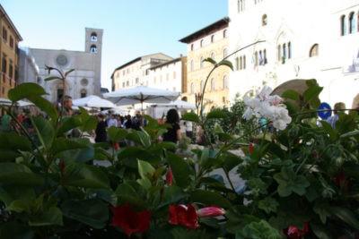 todi fiorita piazza del popolo