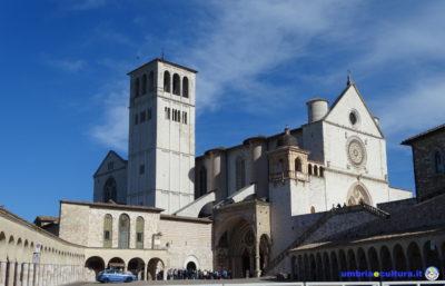 basilica assisi cortile di francesco sergio mattarella