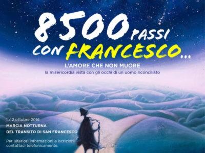 8500 passi con francesco
