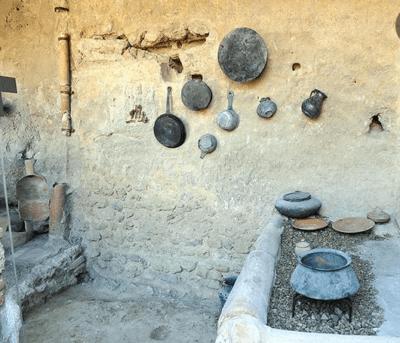 pompei cucina