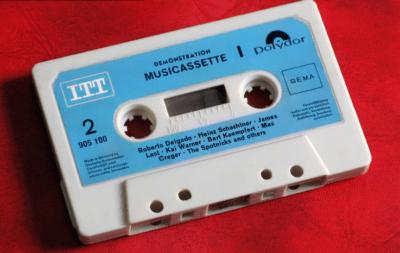 audiocassetta vintage