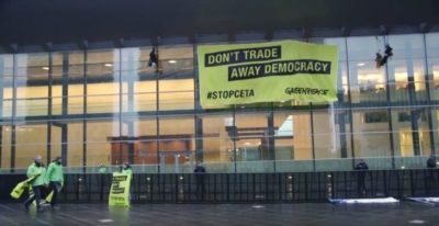 greenpeace #stopceta