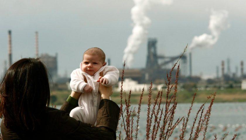 inquinamento ambientale bambini co2