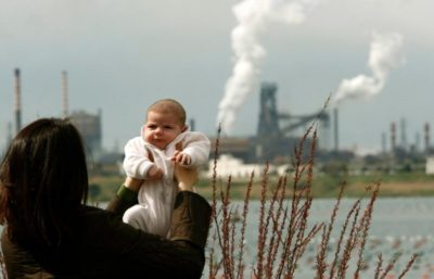 inquinamento bambini co2