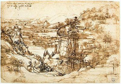 paesaggio-con-fiume-leonardo