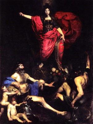 valentin de boulogne allegoria italia