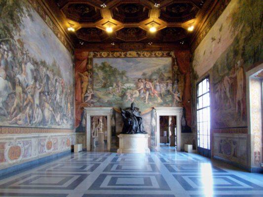 sala degli orazi e curiazi musei civici di roma