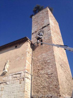 orologio della torre di borgo