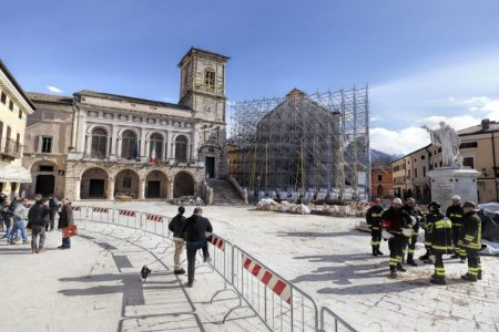 norcia ricostruzione post terremoto