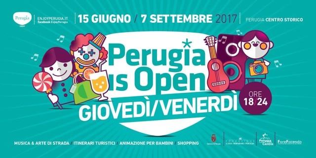 perugia is open
