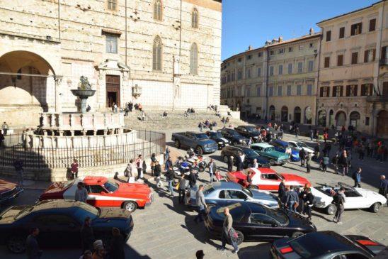 Driving Through Perugia