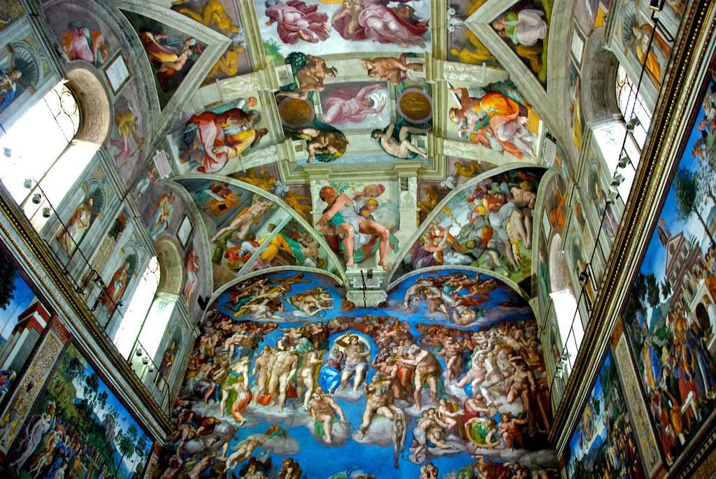 cappella sistina archimede arte