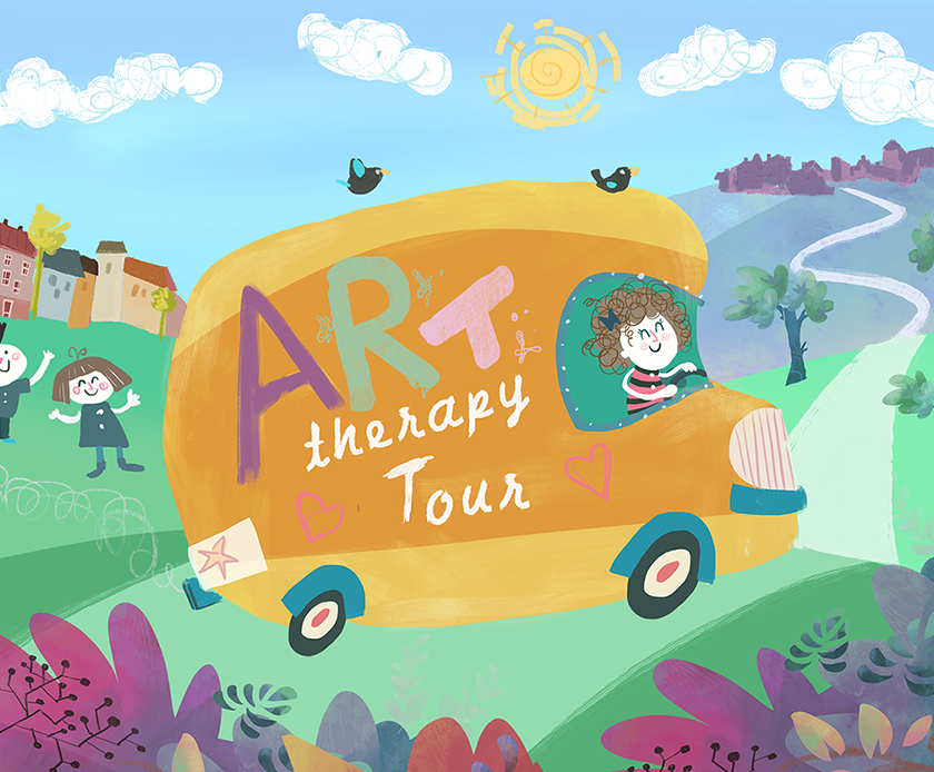 art therapy tour