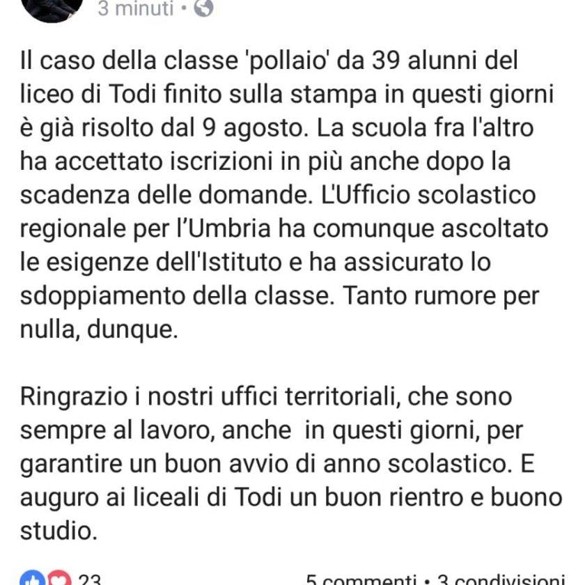FB Ministro bussetti