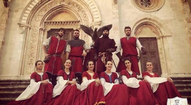 Il gruppo Danze Medievali di Todi festeggia dieci anni di attività