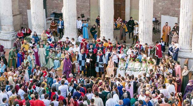 Assisi è pronta a dare il via alla 66esima edizione del Calendimaggio