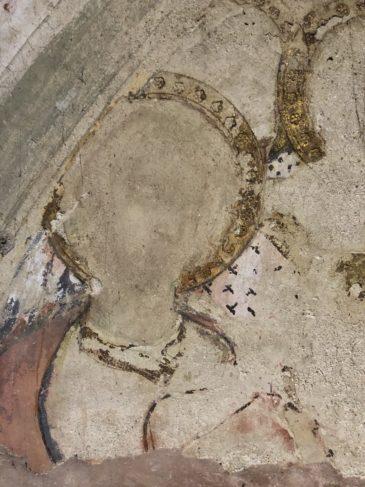 antico affresco siena