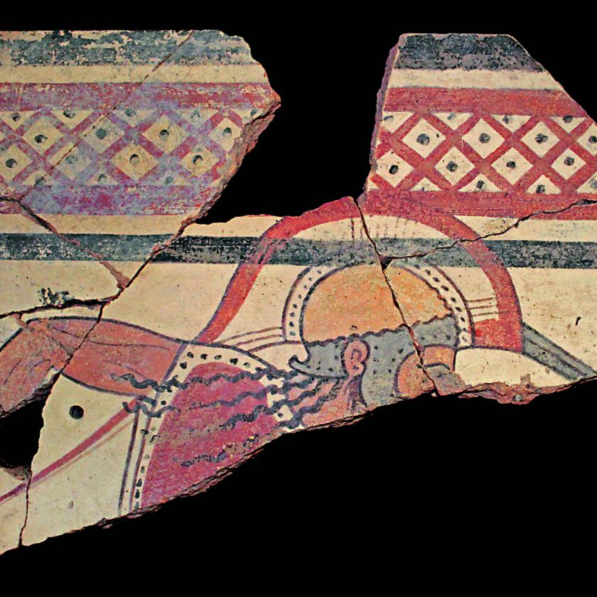 i colori degli etruschi