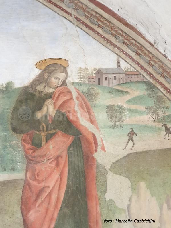 raffaello a perugia oratorio sant'agostino