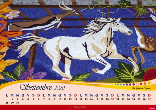 calendario maestri del petalo 2020