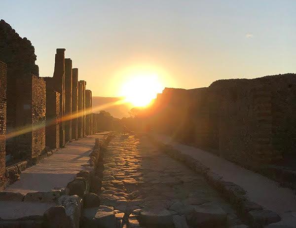 solstizio a pompei podcast