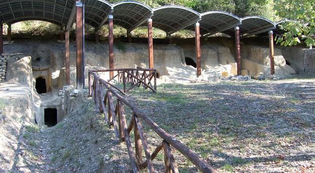 necropoli del vallone