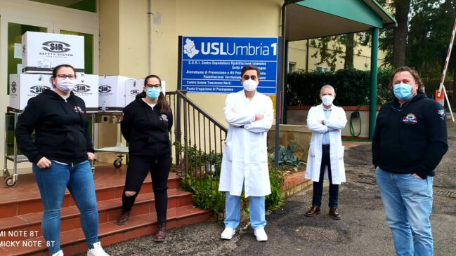 sir safety system donazione passignano