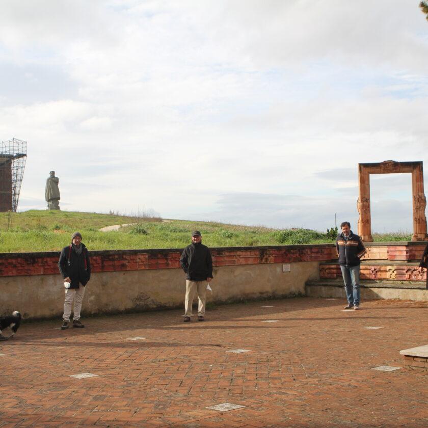 sculture del parco di brufa