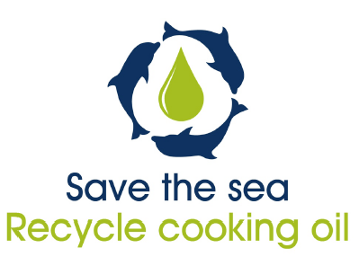 save the sea recycle cooking oil