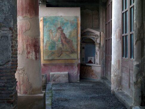 interno pompeiano e archivio dello spazio