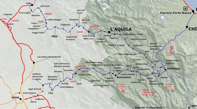 ferrovie paesaggistiche centro italia