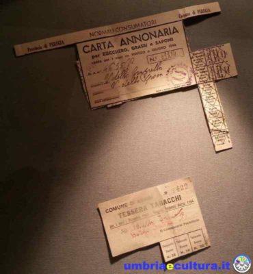 museum of memory assisi-museo-della-memoria-tessera-annonaria